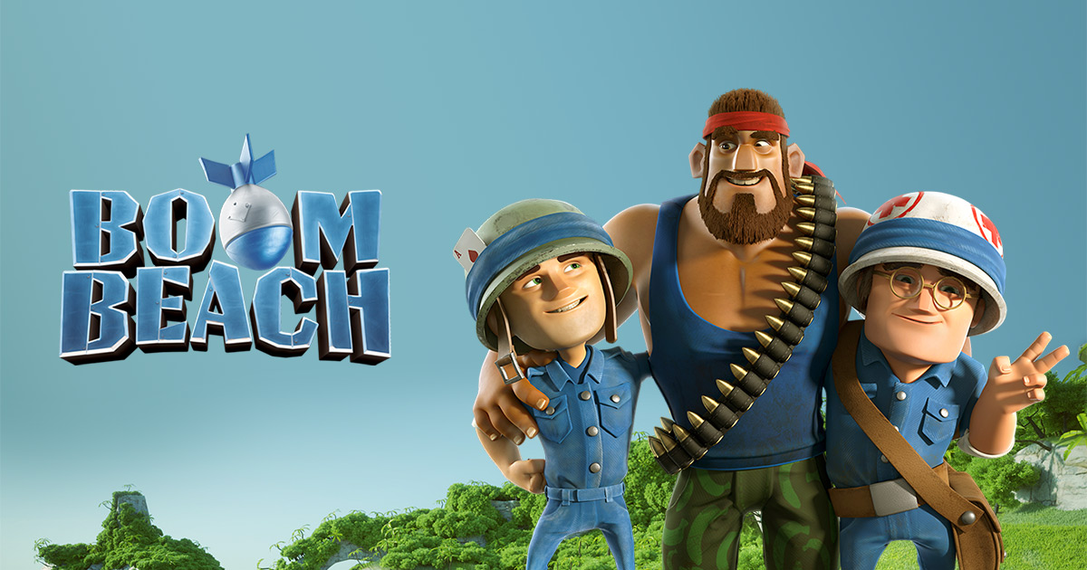 Boom Beach free download without human verification